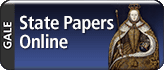 Gale State Papers Online logo