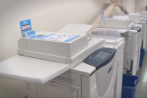 DPrint copiers at the Webster Library