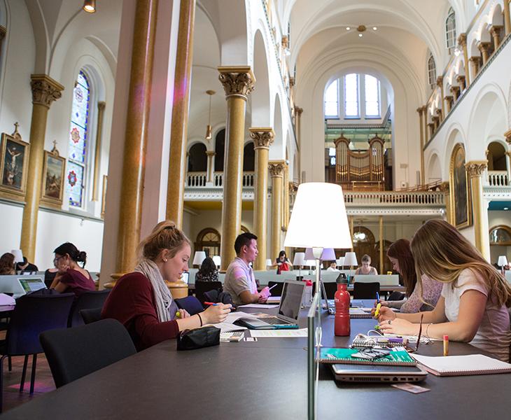 grey nuns reading room concordia university library