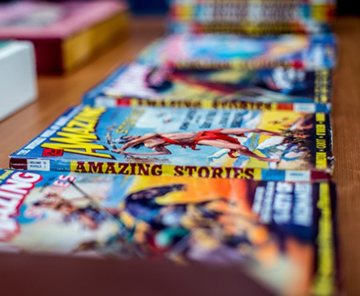 Special Collections comic books