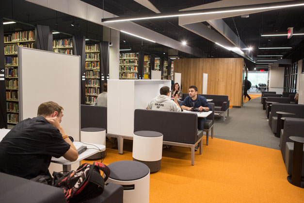 Study spaces · Concordia Library